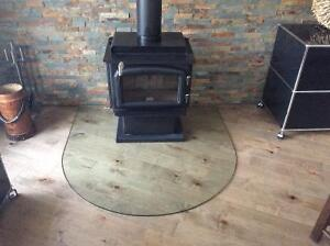 Beautiful Hearth Pad - Glass