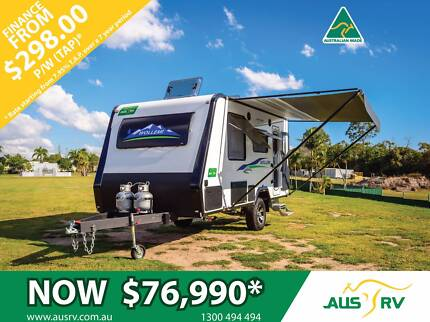 2017 AUSRV WOLLEMI 17-02-AT 17ft ALLTERRAIN TOURING CARAVAN