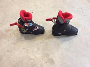 Nordica, kids ski boots, 211mm