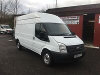 2012 (62) Ford Transit 2.2 TDCi 125 EU5 350L High Top LWB Van