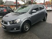 2014 Holden Barina TM MY15 CD Trio Grey 6 Speed Automatic Hatchback Wodonga Wodonga Area Preview