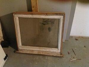 6 WINDOWS FOR SALE, SOLID WOOD