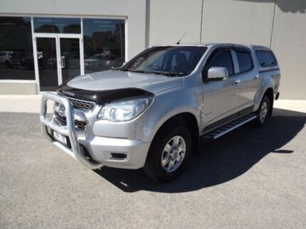 2013 Holden Colorado RG MY14 LT Crew Cab Silver 6 Speed Sports Automatic Utility