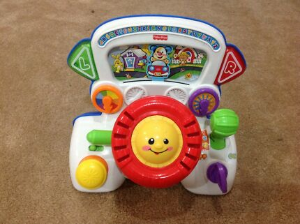 Fisher price steering wheel