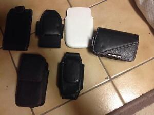 Cell phone telephone pouch camera pouches accessories for belt