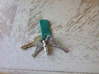 Found set of keys