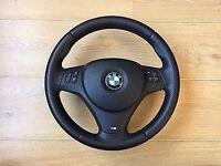 Genuine bmw sports steering wheel