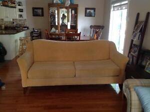 Yellow chesterfield   Clarenville. Excellent condition