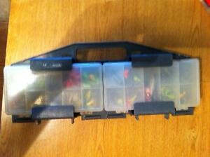 Small 4 box tackle box perfect for crappie or anything else you