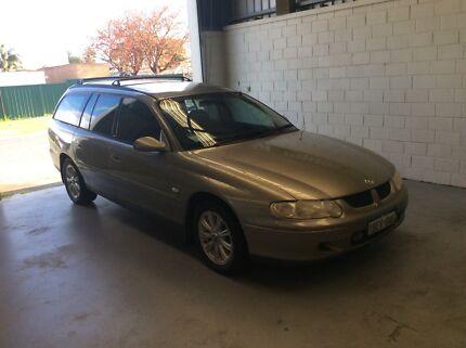 2002 Holden Commodore Wagon EQUIPE