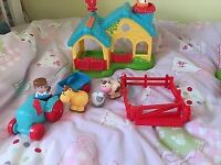 Happyland ELC happy land farm with animals tractors and sound