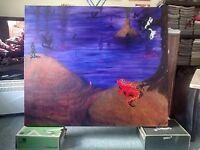 "Original painting. Acrylic paints. Canvas: 40"" x 48"""