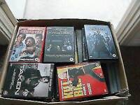Box of 100 dvds suit car booter