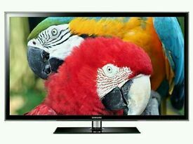 "Samsung 51"" plasma tv very slim built in HD freeview USB medis player ."