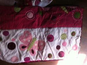 girl bedding set for crib/day bed
