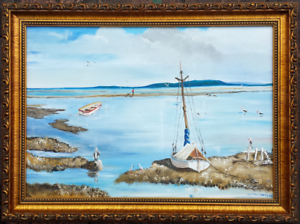 'LOW TIDE'   by   V. JONES Morayfield Caboolture Area Preview