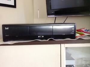 Bell tv receiver, hd pvr