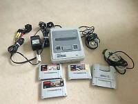 Nintendo all wires with 3 games