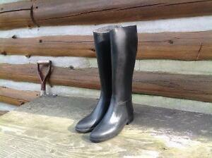 Summer Tall Riding Boots, size 8