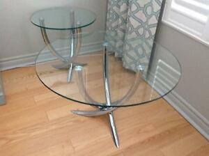 Torre&Tagus coffee table  and matching end table Peterborough Peterborough Area image 1