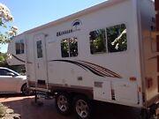 Small 20 ft fifth wheeler-Okanagan Eclipse Sheidow Park Marion Area Preview