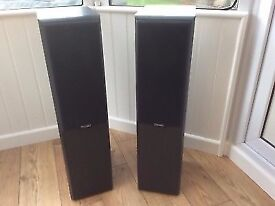 Mission Floorstanding Speakers 702e in Good Condition