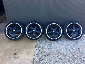 """20"""" Staggered King Rims with New Tyres Riverton Clare Area Preview"""
