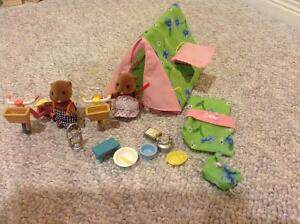 Calico critters camping set