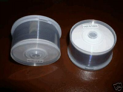 600 MINI PRODISC WHITE INKJET HUB PRINTABLE DVD-R