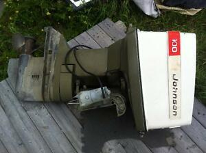 Johnson 100hp outboard Runs excellent