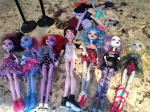 Monster high barbies