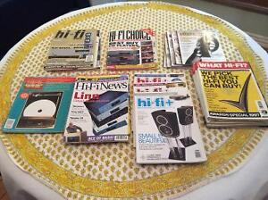 Hifi stereo magazines,info, tweeks turntable, vinyl reviews. Kingston Kingston Area image 1