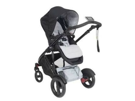 Britax Ebrake Pram with Bassinet and Bassinet Stand
