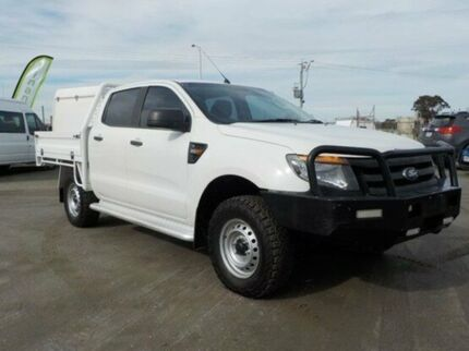 2014 Ford Ranger White Manual Cab Chassis