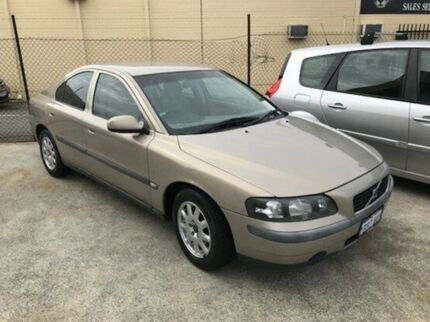 2002 Volvo S60 MY02 T Gold 5 Speed Sports Automatic Sedan St James Victoria Park Area Preview