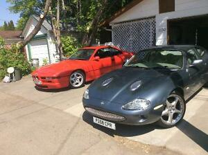 1997 Jaguar XKR Arden Coupe and 1994 BMW 840CI