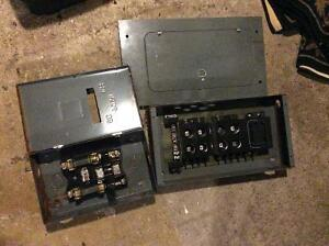 Electrical panel /fuses etc make an offer