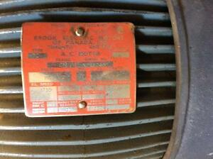 2 HP brooks electric motor Moose Jaw Regina Area image 2