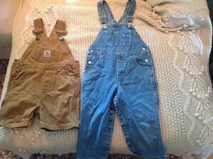 Shorts and Jean Overalls