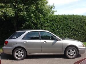 Subaru Impreza Familiale Sport manuelle 2005