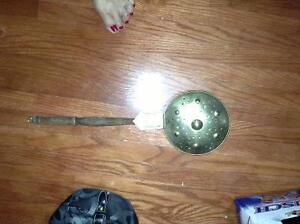 Antique brass bed warmer for sale London Ontario image 1