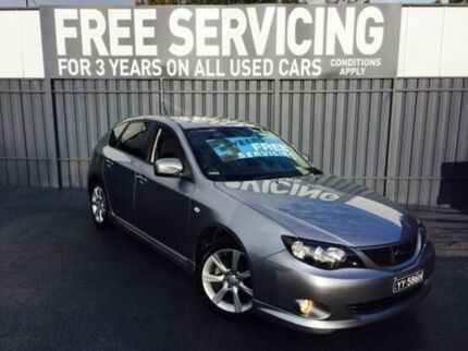 2008 Subaru Impreza G3 MY09 RS AWD Silver 4 Speed Sports Automatic Hatchback Old Reynella Morphett Vale Area Preview
