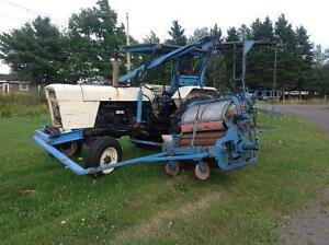 Bragg Blueberry Harvester