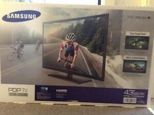 """New Samsung 43"""" PDP TV for sale"""
