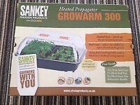 Brand New Sankey Heated Propagator 52cm x 42cm x 24cm Premier Growarm 300