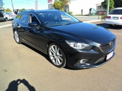 2014 Mazda 6 GJ1031 Atenza SKYACTIV-Drive Black 6 Speed Sports Automatic Wagon