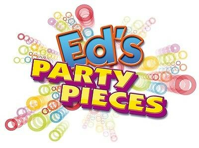 Ed's Party Pieces Balloons Banners Bunting Partyware Tableware Confetti Greeting Cards Stickers Invitations Cake Decorations Jokes Games