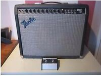 Fender deluxe 1993 , 112 amp 300 watts with foot switch