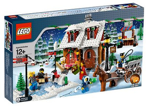 Lego - Winter Village Bakery 10216 (used, 692 pieces)