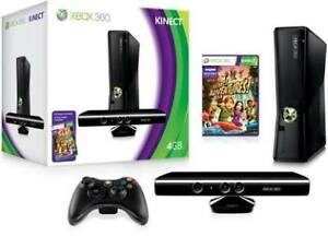 Xbox 360 with 19 games and kinect